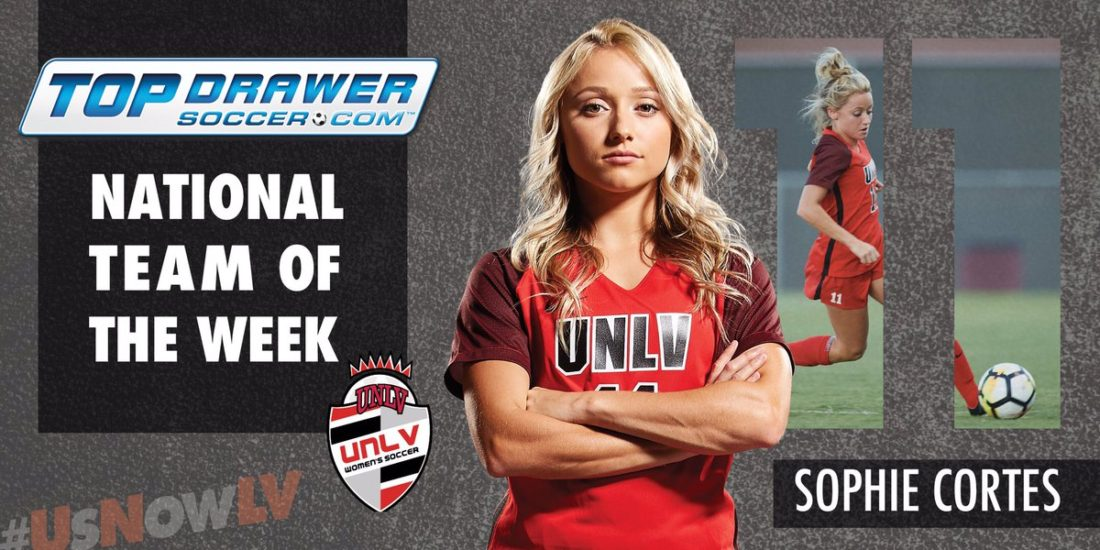 Cortes Named To National Team Of The Week